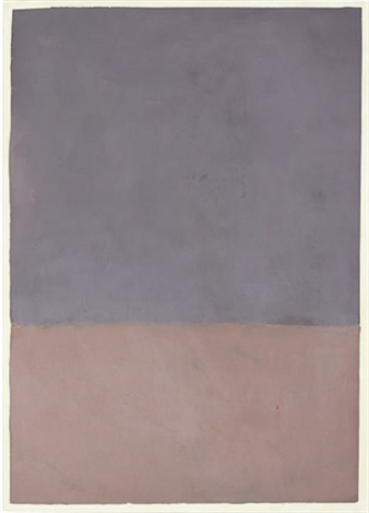 untitled gray and mauve by mark rothko