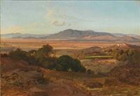 southern european mountain landscape by ludwig heinrich theodor (louis) gurlitt