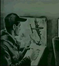 sketching through the airplane window by william wolfson