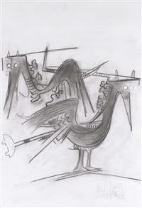 les oiseaux by wifredo lam