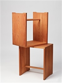 ulmer hocker (pair) by max bill, hans gugelot and paul hildinger