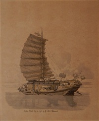 sailing vessel by william alexander
