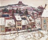 murols sous le neige by victor charreton