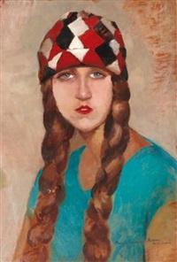 portrait de femme by maria fromowicz nassau
