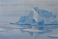 icebergs at antarctica (+ 4 others; 5 works) by lucia de leiris