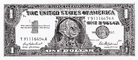 dollar bill by robert watts