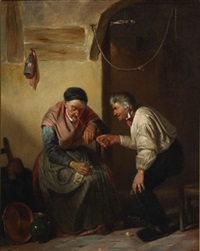 the old prankster by willem joseph vertommen