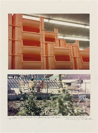 kitchen trays in a discount store jersey city nj back yards housing development staten island ny 2 works by dan graham