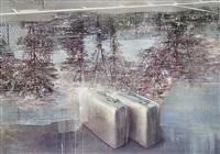 kofferter vannspeil by frank brunner