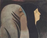 profils (suzanne et le vieillard) by léon spilliaert