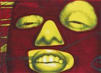 fem-rouge; fem-verde by ed paschke