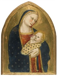 the madonna del latte by giovanni del biondo