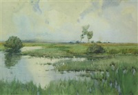 the mere, shropshire by aeta jardine
