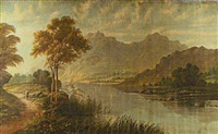 loch katrine by cyril wiseman herbert
