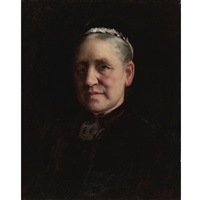 portrait of madame verdier by paul peel