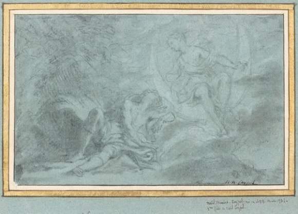 le sommeil dendymion by noël nicolas coypel