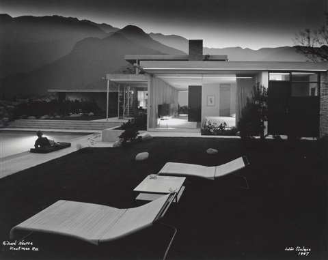 kaufman house richard neutra palm springs california by julius shulman