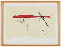 propslibelle, helicopter, u-controll iii, polistes, scotch gambit (5 works) by panamarenko