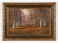 autumn landscape by william mckendree snyder