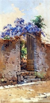a walled doorway by angelos giallina