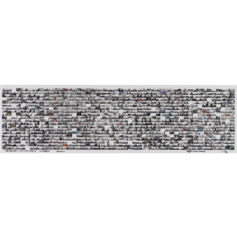 city wall, beijing by wang jinsong