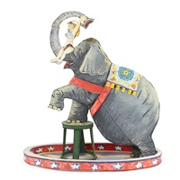 maquette for jumbo by red grooms