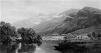 midday in glen falloch, loch lomond by william james ferguson