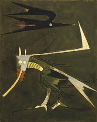 composition pour un matin by wifredo lam
