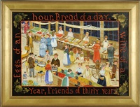 eggs of an hour, bread of a day wine of a year, friends of thirty years by elizabeth mumford
