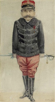 major esterhazy, military officer and spy by jean baptiste guth