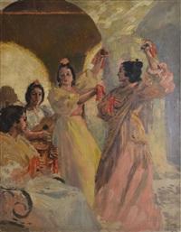 danseuse espagnole by alexandre lunois