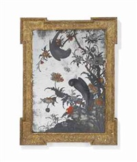 parrot and hawk among flowering branches by anonymous-chinese (18)