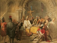 the martyrdom of st. thomas becket by sir john gilbert