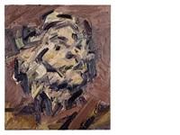 head of j.y.m. by frank auerbach