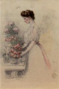 portrait of tsarina alexandra fjodorovna by winifred ursula nicolson