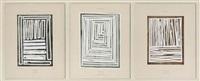dürer y botticelli (triptych) by boris viskin