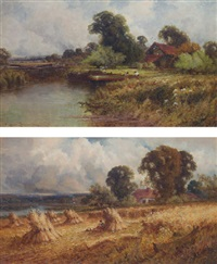stormy harvest by henry bodge pennell