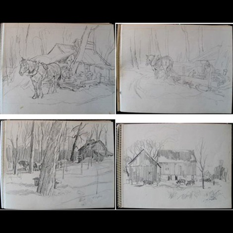 various subjects 2 works by henry john simpkins