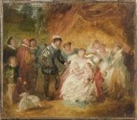 la naissance de louis xiii by caroline-louise-emma de bay
