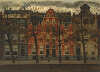 bend in the herengracht by eduard karsen
