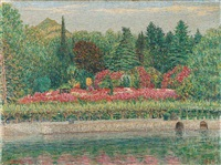 fioritura a villa carlotta by gottardo guido segantini