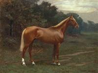 portrait de cheval by richard newton ii