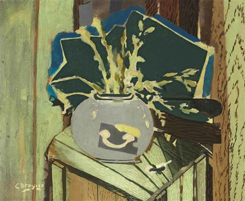 la caisse verte by georges braque