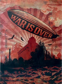 war is over by shepard fairey