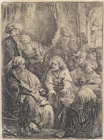 joseph erzählt seine träume by rembrandt van rijn