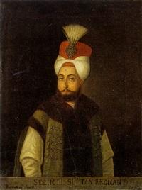 portrait of sultan selim iii by marie thérèse duchateau