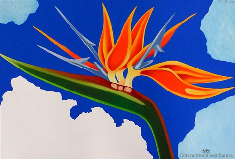 bird of paradise by tom mutch