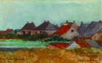 paisaje holandés by fernando fader