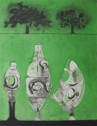 three standing forms by graham sutherland