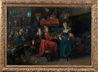 les vierges sages et les vierges folles by frans francken the elder